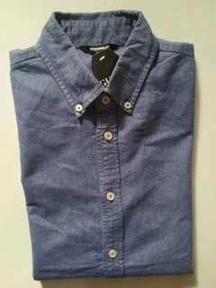 ORIGINAL OXFORD SLIM M-L UNIQLO BAY NOT UNIQLO ZARA GAP