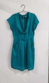 Repriced Occasion turquoise dress