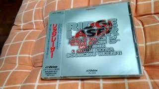 (平售$58)+包平郵(不另再折) Namco Game - Ridge Laser ost 日版cd