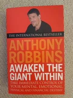 🚚 AWAKEN THE GIANT WITHIN, by Anthony Robbins