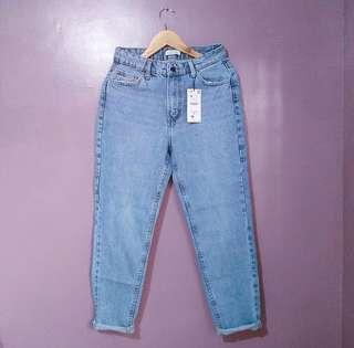 Bershka High Rise Mom Jeans