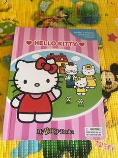 🚚 70% off: My Busy Book Hello Kitty
