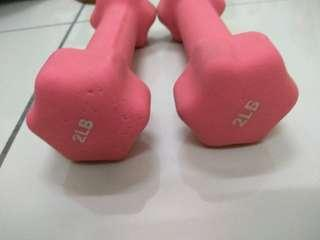 Dumbell/ hand weight 2LB