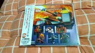 (平售$58)+包平郵(不另再折) Namco Game - Cyber Sled ost 日版cd