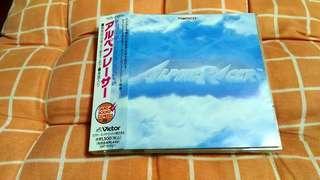 (平售$58)+包平郵(不另再折) Alpine Racer ost 日版cd