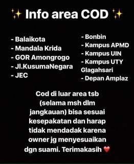 Info COD 💕