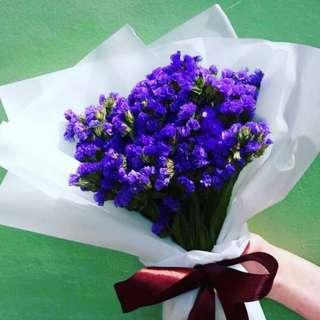 🚚 Statice bouquet
