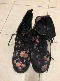 H&M Floral Boots
