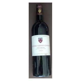 Chateau Grand Clocher Saint-Emilion 2004, France 法國紅酒