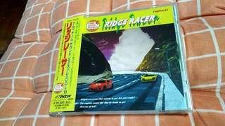(平售$78)+包平郵(不另再折) Namco Game - Ridge Racer ost 日版cd