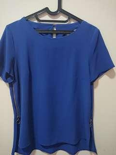 Blue Blouse Dorothy Perkins