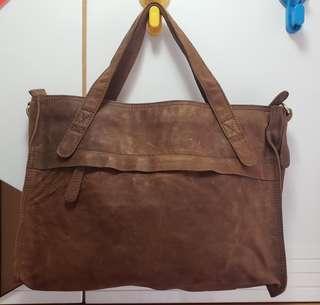羊皮手袋 leather bag 文青款