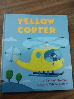 Yellow copter book brand new