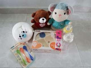 🚚 Selling used soft toys and some brand new baby items