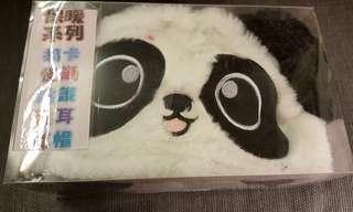🚚 熊貓耳朵跳跳帽