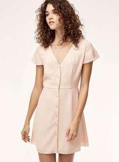 NWT Aritzia Nazaire Dress in Sakura Size 4