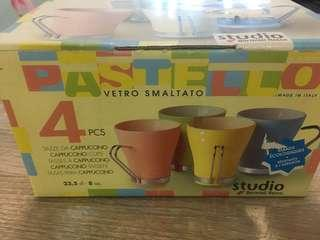 Cappuccino Cups (made in italy)