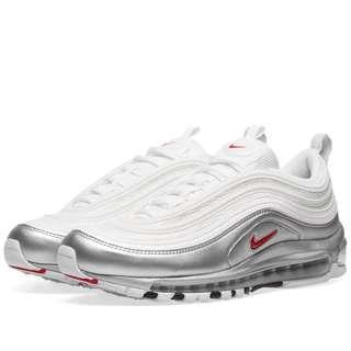 Nike air max 97 varsity red white