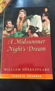🚚 A midsummer night's dream- Penguin readers