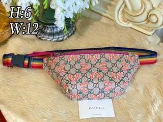 GG Butterfly Belt Bag