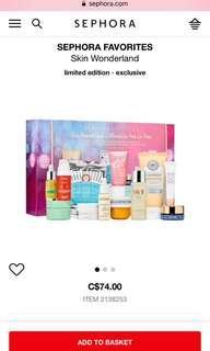 Brand New Sephora Skin Care Gift Set