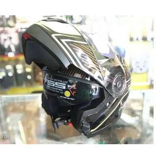 New Helmet MHR Flip Up Double Visor Original Ori Yamaha Honda Suzuki SYM Modenas Benelli Demak BMW KTM KTNS CMC Evo Skyline Y15ZR RS150R FZ150 RXZ RFS Belang 125ZR LC 135 CBR RC Duke R25 R15 Pulsar 302R Dominar Ninja Z SL