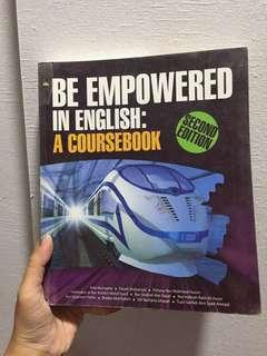 Be Empowered in English : A coursebook