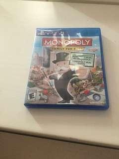 PS4 大富翁遊戲,90%新齊件
