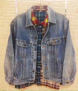 Vintage LEE Denim jacket Made In USA