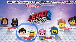🚚 McDonald's Happy Meal Toy - The Lego Movie 2