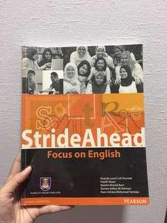 StrideAhead Focus in English