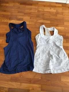🚚 Lululemon Lorna Jane exercise tops authentic