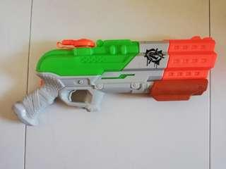 USED Nerf Splatterblast Splatter Blast ZombieStrike Super Soaker Blaster Water Gun Hasbro TRU