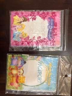 Bundle of 2 Disney Passport covers