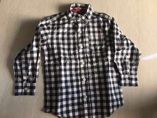 Boy shirt (Carter's) checkered (size 5)