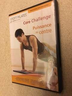 🚚 STOTT Pilates Core Challenge DVD FREE SHIPPING