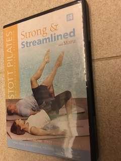 🚚 STOTT Pilates Strong & Streamlined DVD