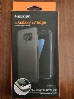 Spigen Samsung S7 Edge Case - Thin Fit