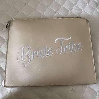 Ivory bride tribe clutch never used $25 save $10