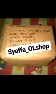 Testi Real Farma WDC to Taiwan