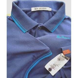 Ben Sherman Retro Mod Tipped Pique Polo SS Shirt