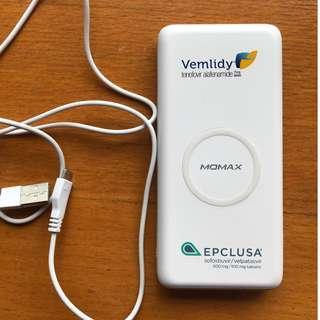 MOWAX wireless charger QPower 2 無線流動電源 10000mah