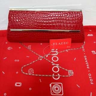 Clutch bag Merah