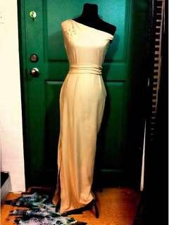 Elegant Maxi Evening Dress