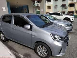 AXIA 1.0 AUTO FOR RENT! KL AREA!!