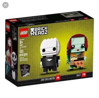 Lego Brickheadz Jack Skellington & Sally 41630