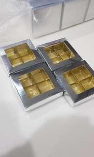 52 Pieces Bekas / Kotak Choklat