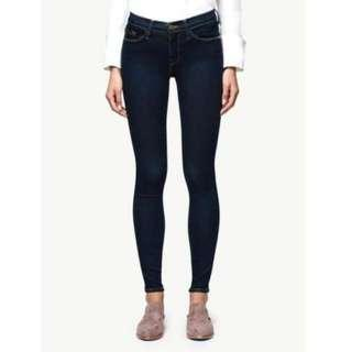 Frame Le Skinny De Jeanne Size 26 Mid-Rise Skinny Jeans