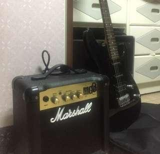 Gio ibanez with amplifier 24 watts