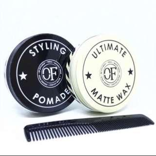 🚚 OF Original Ultimate Matte Wax / Strong Hold Pomade 100ml 70% left